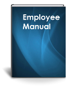 Employee Handbook Instant Download